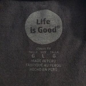 Life Is Good Shirts Remember Where You Came From Tee Poshmark